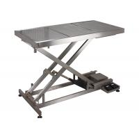 Quality SUS 304 Veterinary Surgery Table For Pets , Electrical Veterinary Lift Table for sale