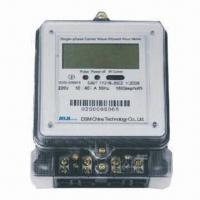 China Single Phase Electric Meter, Energy Meter with Static Single-phase Wire Meter on sale
