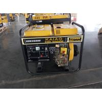 Quality 3KW AC Single Phase Open Frame Diesel Generators Hand Start System For Industrial for sale