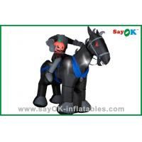 Party Decoration Inflatable Horse / Knight Huge Inflatable Kids Toys Oxford Cloth