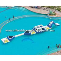 China Popular Rent Inflatable Water Park , Inflatable Aqua Park For Child on sale