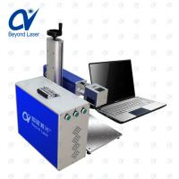 Quality 20w color fiber laser marking machine mini size portable type easy using on plastic wood acrylic for sale for sale