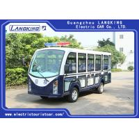 Quality Closed Mini Electric Sightseeing Car 72V AC Motor With 14 Seaters toplight / dry Battery bus seats electric shuttle bus for sale