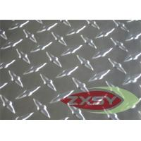 Quality 5052 6061 Construction Embossed Aluminium Sheet In Diamond Pattern for sale