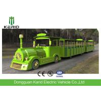 Quality Diesel Power Tourist Trackless Train With 42 Seats , Multi Color Shopping Mall Trains for sale