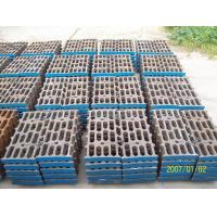 Quality Industry Grid Cement Mill Liners Wear Resistance With ZGCr5Mo for sale