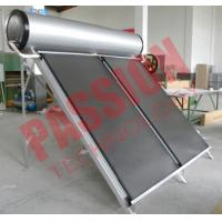 China Portable Solar Water Heater 300 Liter , Flat Panel Solar Water Heater System on sale