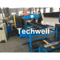 Quality High Speed Cable Tray Roll Forming Machine With 18 Steps Forming Stations for sale