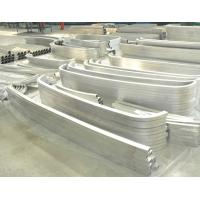 Buy cheap CNC Machining Parts Aluminium Bending Profiles With Customized Shape from wholesalers