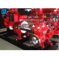 Quality 1500GPM @ 150PSI UL/FM Approval Diesel Engine Drive Fire Pump With Horizontal Centrifugal Split case Fire Pump for sale