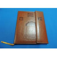 Quality offset Leather Bound Book Printing for sale
