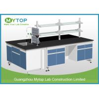 Buy Scratch Resistance University Laboratory Benches And Cabinets , Science Lab Benches at wholesale prices