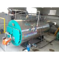 Buy CWNS Type Oil Fired Hot Water Boiler Heating System / Fire Tube Steam Boiler at wholesale prices