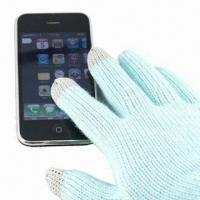 Quality Touch Gloves for I phone, Made of 100% Acrylic, Available in Various Colors for sale