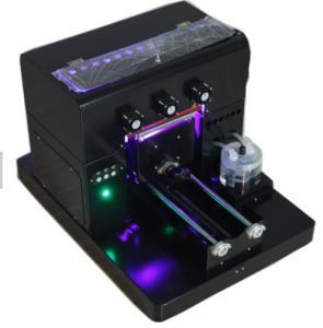 Buy cheap 110V / 220V UV LED Flatbed Printer 3D Textured Printing Result For Phone Case from wholesalers