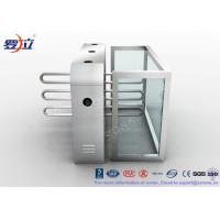 Quality Pedestrian Swing Barrier Waist Height Turnstiles Entrance Security For Shopping Mall for sale