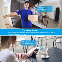 Buy Front Door Security Wireless Doorbell Camera WiFi Connection Battery Operated at wholesale prices