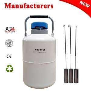 LN2 storage dewars 2L cow semen tank price