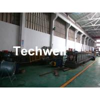 Quality GI , Carbon Steel Top Hat Purlin Cold Roll Forming Machine With Manual / Hydraulic Uncoiler for sale