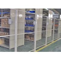Buy Indoor Warehouse Safety Fences , Security Steel Fencing 1.5-3m Width at wholesale prices