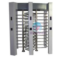 Quality Automatic Full Height Turnstile 304# stainless steel Dual Channel Pedestrian Access Gate for sale