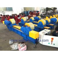 China 40 Ton Conventional Tank Turning Rolls With Lead Screw Adjustment AC Frequency Converter on sale