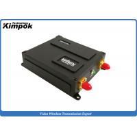 Buy Wireless Ethernet UAV Video Transmitter Lightweight Two Way Radios LOS 70km Long at wholesale prices