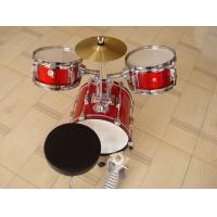 Buy Muse Basic Big Red 3 Piece Acoustic Drum Set For Kids / Children MU-3KL at wholesale prices