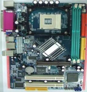 Intel 865GV ICH5 Socket 478 Desktop Motherboard