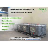 Buy cheap Food Grade Liquid Glucoamylase Enzyme 400000 U / ml For Alcohol And Brewing from wholesalers