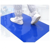 Quality Disposable 250% Rupture Elongation 50um PE Sticky ESD Mat for sale