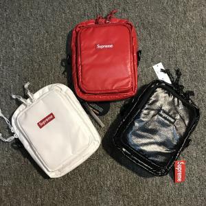 Quality supreme 17ss bags sports bag travelling bag crossbody bag   Messenger bags for sale