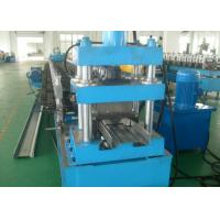 Quality W Beam 5mm C Post Highway Guardrail Crash Barrier Roll Forming Machine for sale