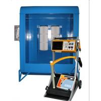 Electric spray powder coating booth equipment and gun 240v for Powder coating paint booth