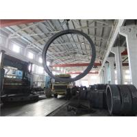 Quality Max OD 5000mm A350 LF3 LF6 Carbon Steel Forging Rings Rough Machined Q+T Heat Treatment for sale