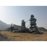 Buy 800mm Conveying Belt Width Mobile Asphalt Mixing Plant With High Pressure Atomizing Burner at wholesale prices