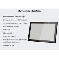 Quality Customized RFID NFC Sensor Industrial Android POE Panel PC 10 Inch IPS Touch Display for sale