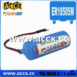 Quality 3.6V ER18505M Lithium Thionyl Chloride Battery (er14250mer14335m er14505m er26500m er3461m for sale