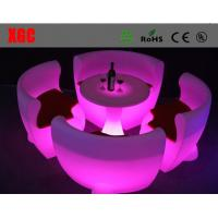 Buy cheap New Style Led Bar Chair / Light Up Plastic PE Chair/ from wholesalers