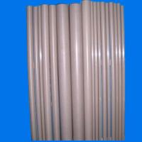 Quality 500mm Glass Filled PEEK Rods / Khaki PEEK Thermoplastic For Plug Parts for sale