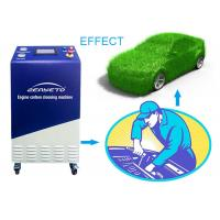 Quality Blue Automotive Carbon Cleaner / Hydrogen Engine Cleaning Machine 600*650*1250 for sale