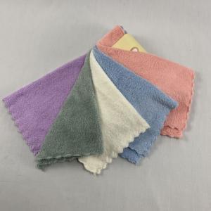 Quality Ultra Plush 25x25cm Refreshing Oshibori Towel for sale