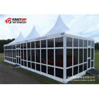 Quality Transparent Sidewall Aluminum Frame Tent , Party Frame Tents For Park Shade for sale