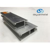 China Customized Sliding Open Style Aluminium Door Frames With 6063-T5 Length 3m - 6m on sale