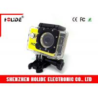 Quality Underwater 30M Waterproof Sports Digital Camera With 62 Degree Wide Angle Lens for sale