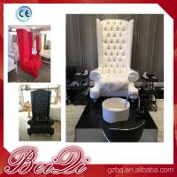 Quality High Back Throne Chair King Pedicure Chairs Used Nail Salon Furniture Queen Pedicure Spa Chair for sale