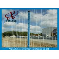 Buy cheap Green Pvc Coated Wire Mesh Fencing For Garden OEM Acceptable XLF-07 from wholesalers