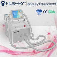 Buy cheap 2016 Newest combination double cryolipolysis cavitation laser slimming machine from wholesalers