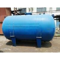 Quality Horizontal Type Glass Lined Steel Tank , 5000L Glass Lined Water Tank For Chemicals for sale