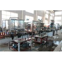 Quality 370ML Glass Bottle Carbonated Drink Filling Machine , Beer Bottle Capping Machine for sale